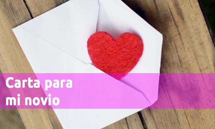 Carta para mi novio