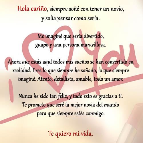 Cartas De Amor Las Escribi Para Mi Novio Estando Enamorada