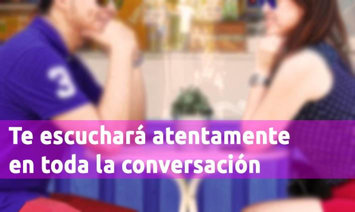 Te Escuchará Atentamente En Toda La Conversación