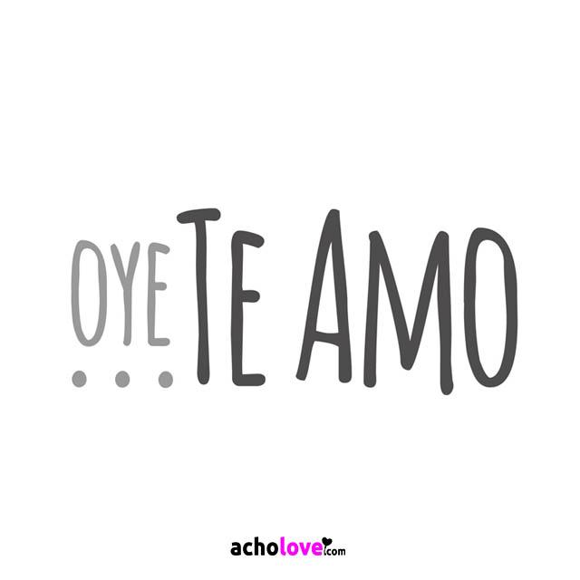Te Amo Imagen De Amor