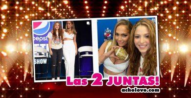 Ultima Foto De Shakira Y Jennifer Lopez Juntas